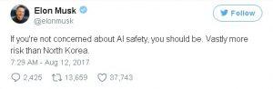 Elon Musk Twitter Account