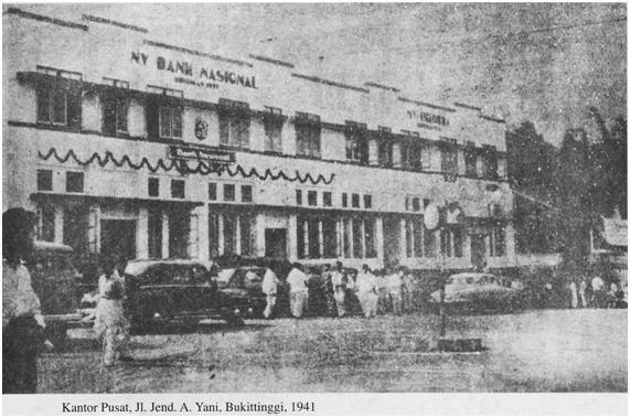 Bank Nasional ; Jaya di Masa 'Bagolak', Runtuh di Zaman Merdeka