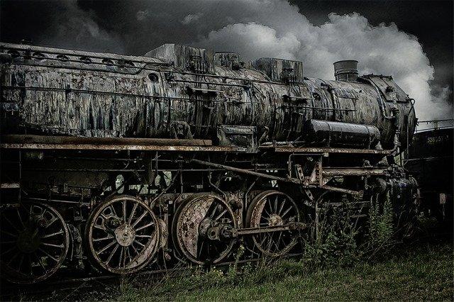 kereta api di sumatera barat - Gambar oleh Liselotte Brunner dari Pixabay