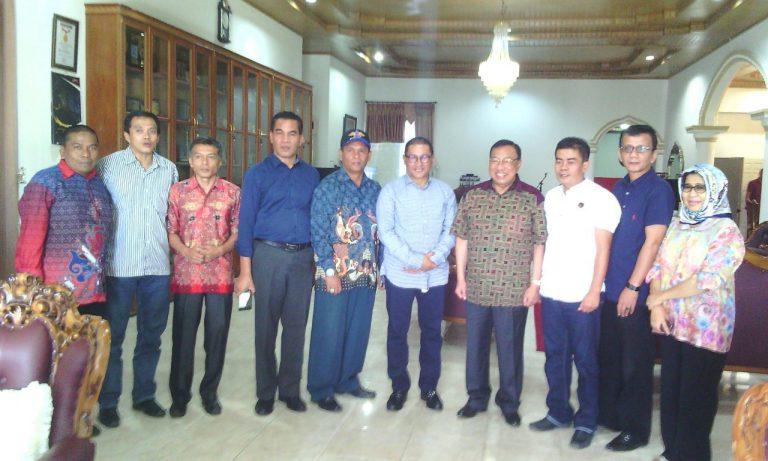 Ketua DPW NasDem Sumbar Silaturahmi dengan Wako Bukittinggi