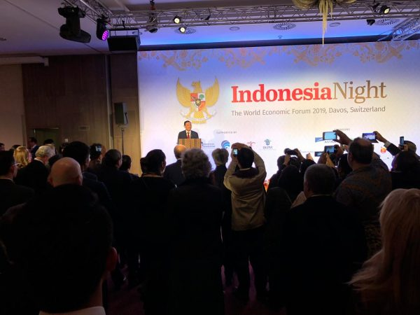Menko Luhut di Swiss dalam agenda WEF 2019