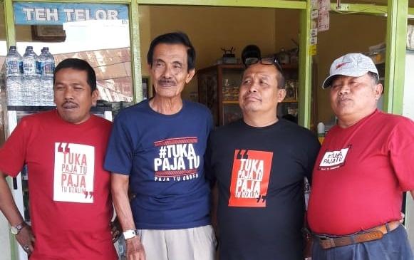 'Politik Baju Kaos' Hangatkan Bukittinggi