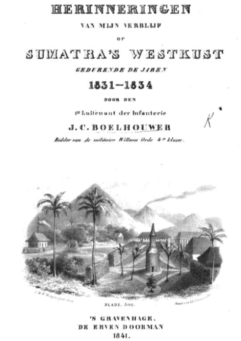 Kadar Wahabi Orang-orang Padri dalam catatan J.C. Boelhouwer (1831-1834)