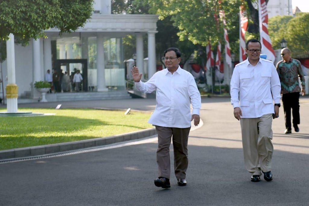 Prabowo Menteri Jokowi foto courtesy setnegri