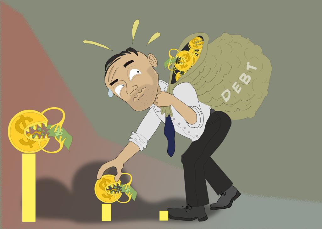 MerawaHijau - Jebakan Hutang Kapitalis Gambar oleh Rilsonav dari Pixabay