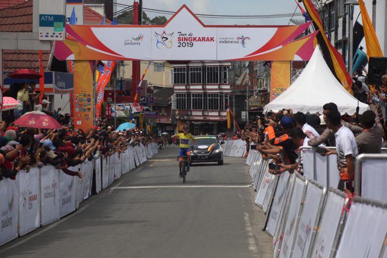 Tour de Singkarak 2019: Jesse Ewart Kembali Kuasai Etape II