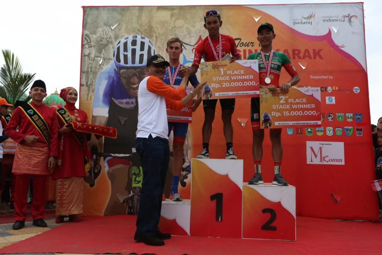 Tour de Singkarak 2019: Jesse Ewart Kian Dekati Juara