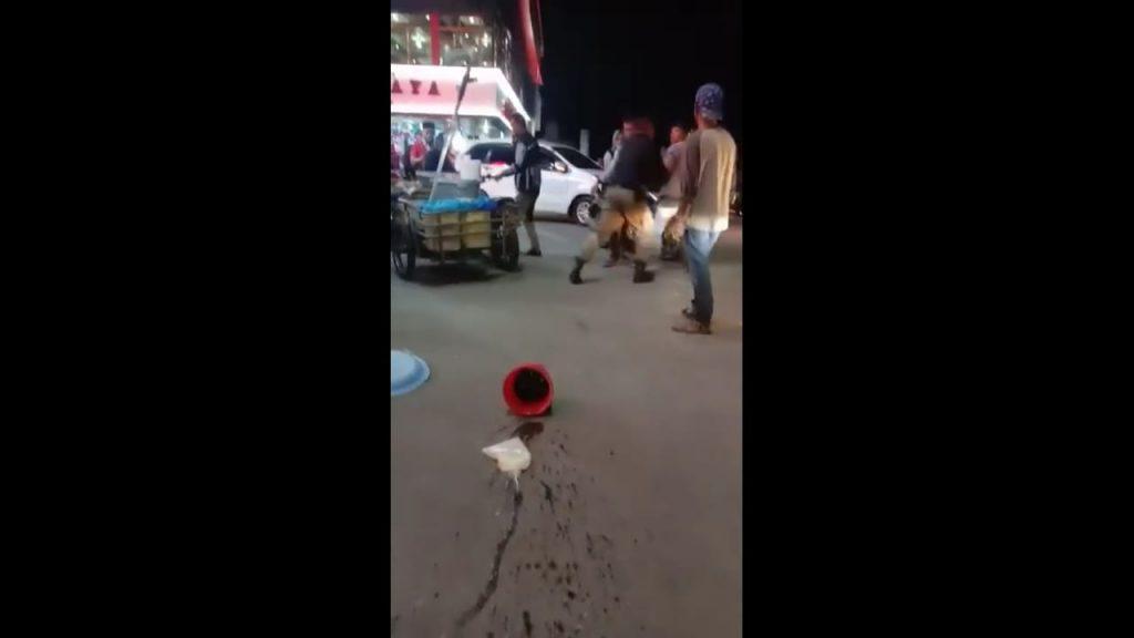 Tangkapan gambar dari video viral