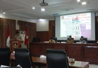 Rapat Paripurna DPRD Bukittinggi - bakaba.co