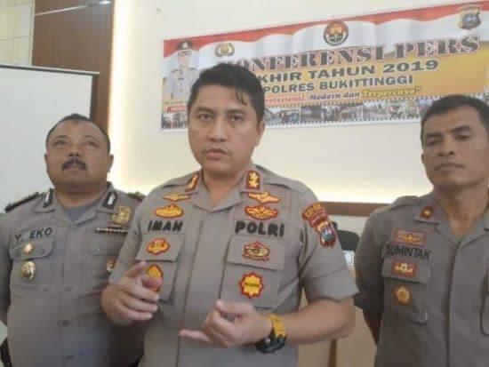 Kapolres Bukittinggi AKBP Iman Pribadi Santoso, S.I.K.,M.H.