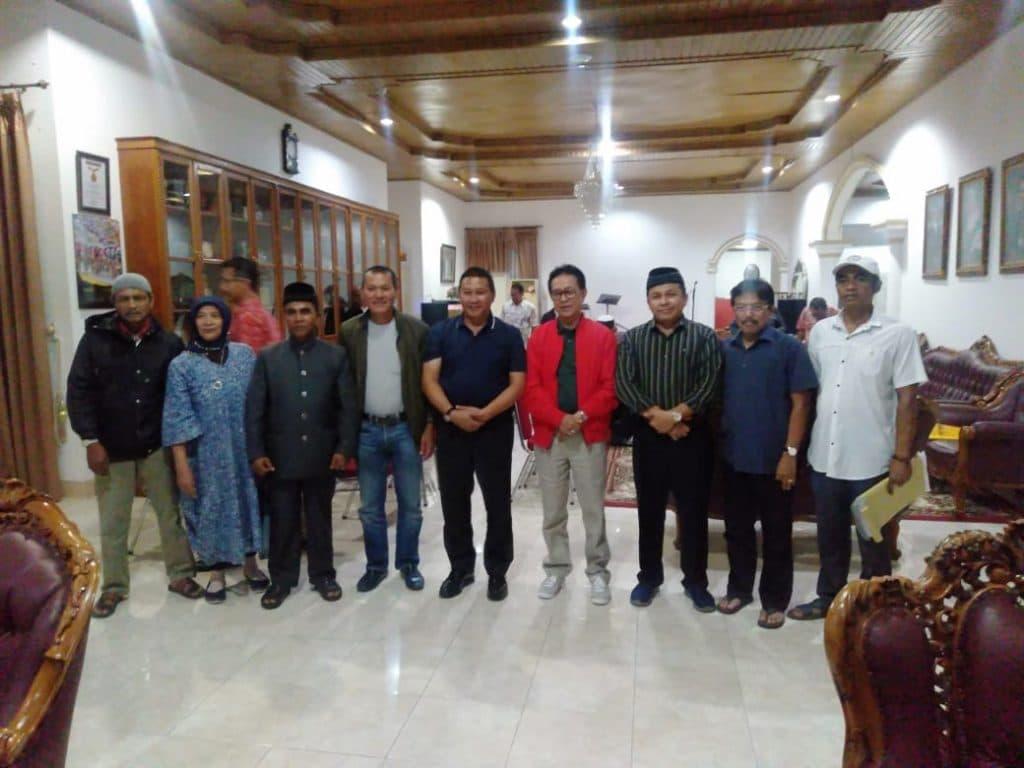 Pertemuan perwakilan kaum Guci dengan Walikota dan Pejabat Pemko Bukittinggi dihadiri Kepala Kejaksaan Negeri Bukittinggi