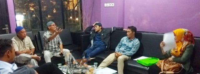 Young Happy diskusi perwako dengan praktisi hukum - bakaba.co