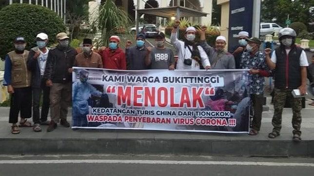 Aksi GNPF di Bukittinggi - bakaba.co