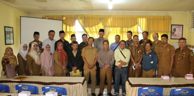 Pertemuan Komisi I DPRD Agam dengan walinagari, Bamus dan tokoh-tokoh masyarakat dari nagari-nagari di Kec Sungaipua