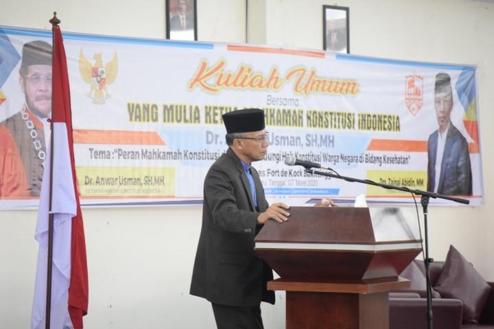Drs. Zainal Abidin, MM, Pembina Yayasan Fort De Kock - foto - R - bakaba.co