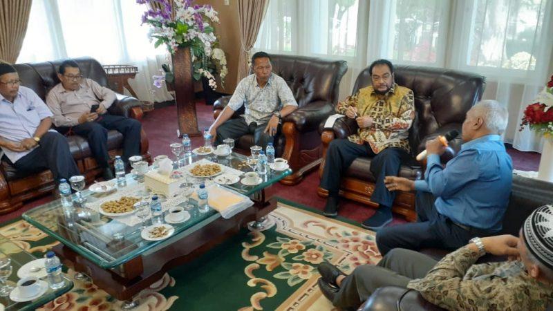 Leonardy Harmainy bertemu Pengurus KADIN Bukittinggi - foto Fadhly Reza