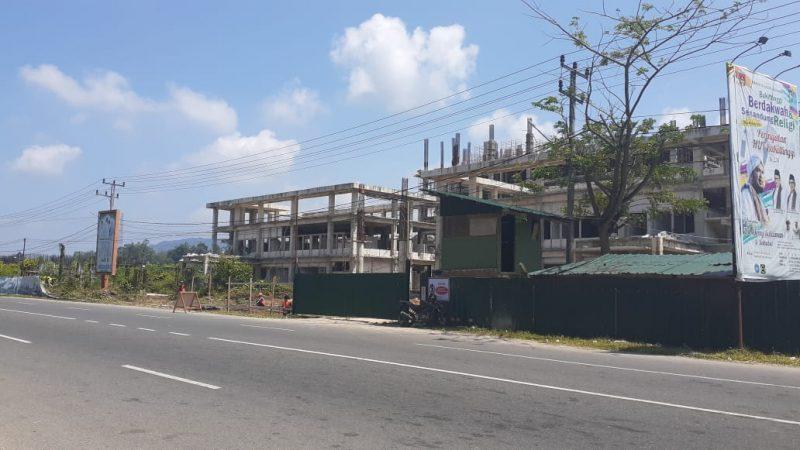 Proyek RSUD Bukittinggi (Foto: Fadhly Reza)