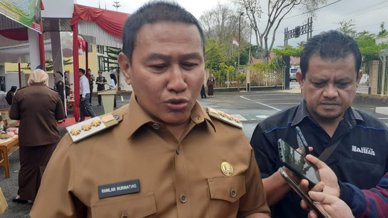 Ramlan Nurmatias, SH. Walikota Bukittinggi (foto: Fadhly Reza)
