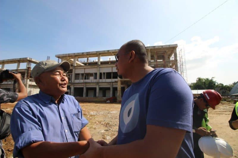 Andre Rosiade bertemu dengan perwakilan keluarga pemilik tanah- foto Fadhly Reza