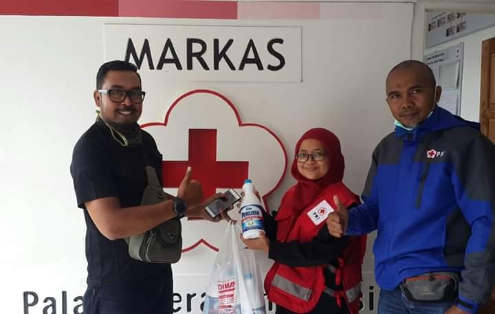 Partisipasi wargakota Bukittinggi hadapi Covid-19 - foto - doc. PMI