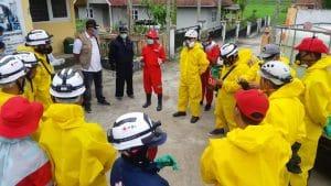Pemerintahan Nagari Padang Tarok dengan PMI Kota Bukittinggi