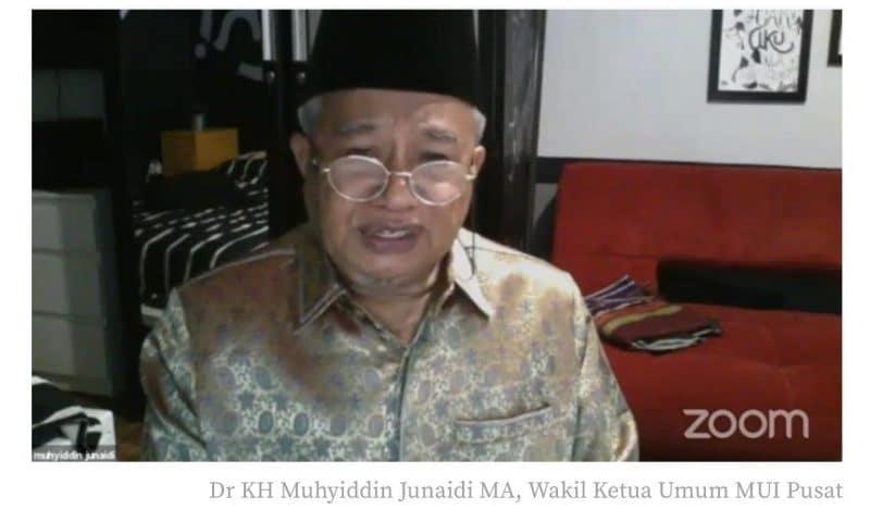 DR. KH. Muhyiddin Junaidi, MA. (Wakil Ketua Umum MUI Pusat) foto. istimewa