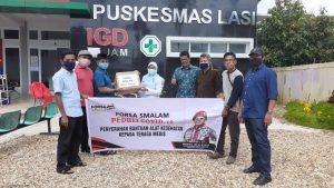 Penyerahan Bantuan APD oleh Forsa Smalam