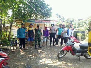 Giat Penyemprotan disinfektan di Koto Panjang foto dok.ist