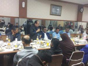 Ismet Amzis SH Anggota DPRD Provinsi Sumbar dari Partai Demokrat foto fadhly reza