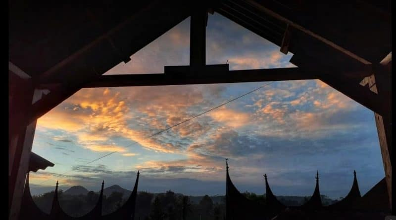 Panorama Kampung Wisata Sarugo Koto Tinggi, foto Afri Zon