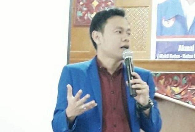 Muhammad Ridha Sekretaris DPD PAN kota Bukittinggi, foto. ist