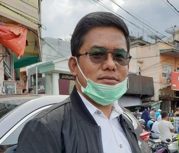 Rusdi Nurman Ketua DPC Partai Demokrat kota Bukittinggi foto ist.