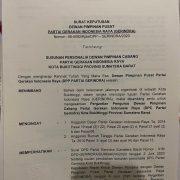 SK DPP Gerindra Hal. 1
