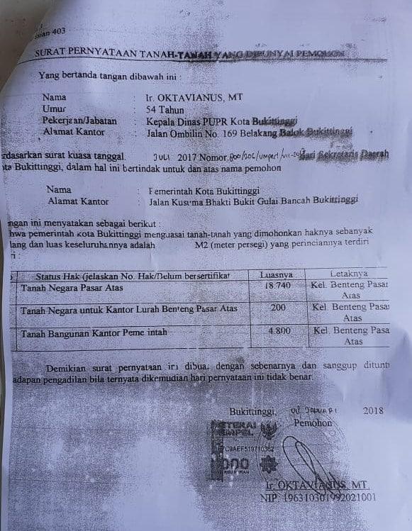 Dokumen Kadinas PU-PR Oktavianus doc.ist