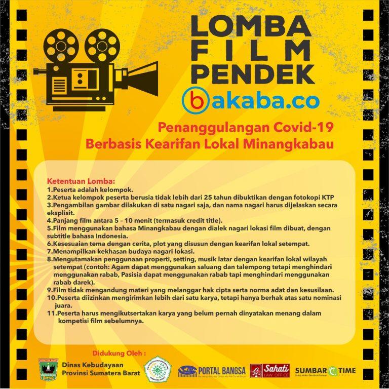 Pemenang Lomba Film Pendek 'Bakaba'