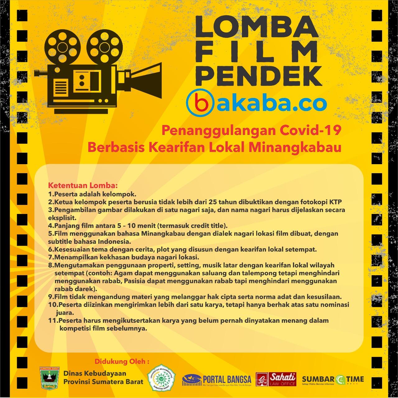 Lomba Film Pendek bakaba