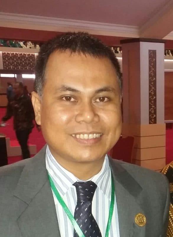 Ketua PK-Gebrak-UNP Mohammad Isa Gautama