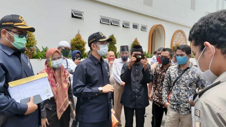 PTUN Sidang Lokasi Gugatan Tanah Pasar Atas