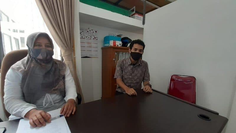 Novita Cahya Kusuma, S.ST., M.H Kepala Seksi Penanganan Masalah & Pengendalian Pertanahan BPN Kota Bukittinggi. foto fadhly reza