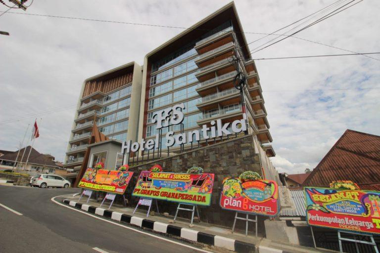 Resmi Beroperasi, Hotel Santika Bukittinggi