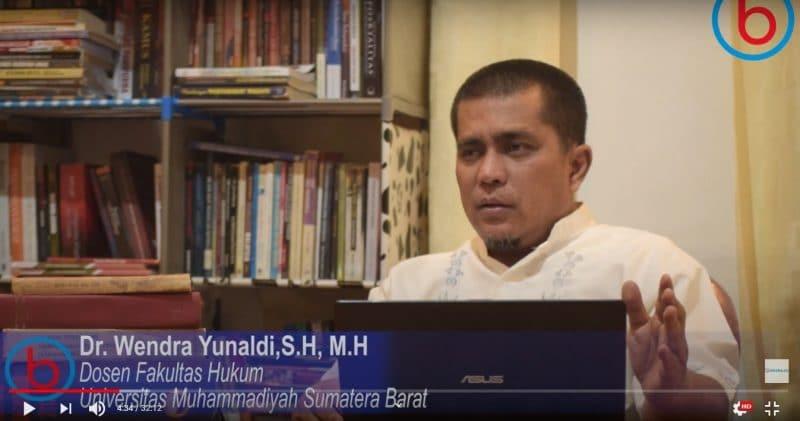 Dr Wendra Yunaldi, SH, MH