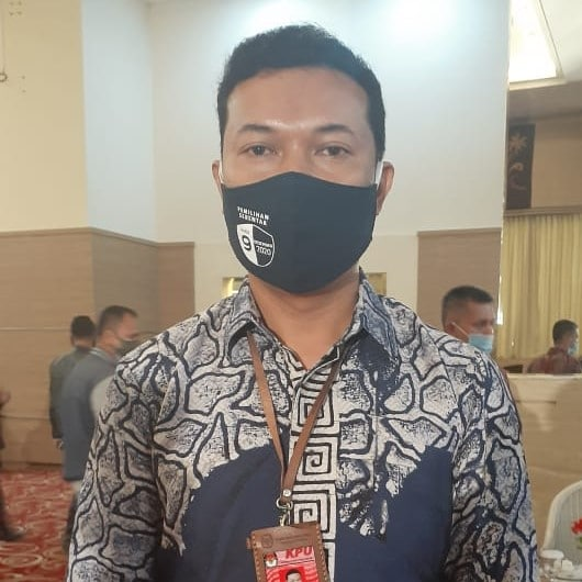 Heldo Aura, Ketua KPU Bukittinggi, foto fadhly reza