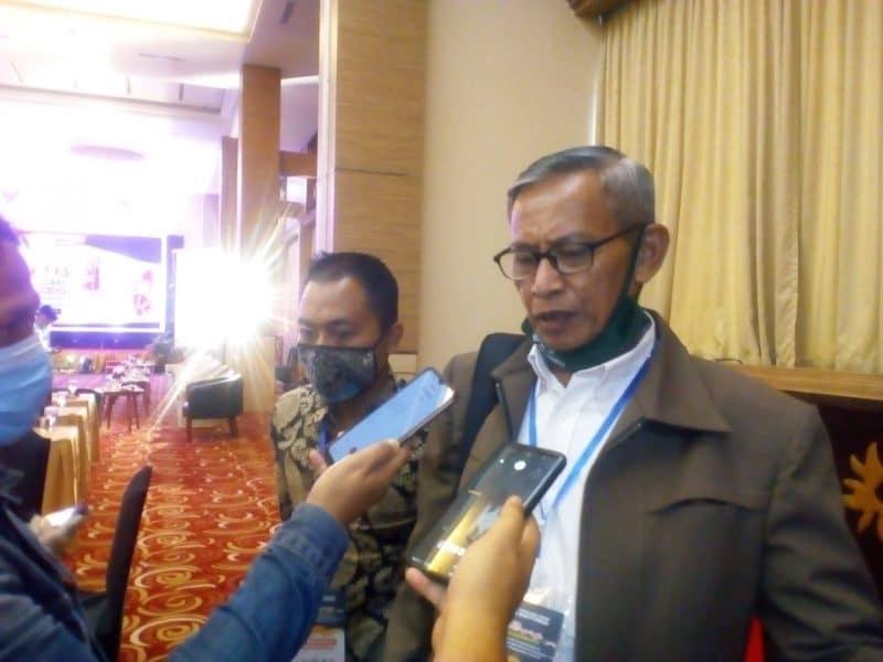 Ketua Tim Pemenangan Erman - Marfendi, Khairul Hamdi, foto fadhly reza