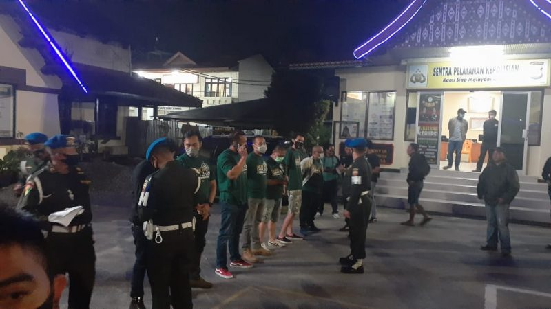 Pengendara Moge - Polisi Militer turut menyelidiki kejadian, foto fadhly reza