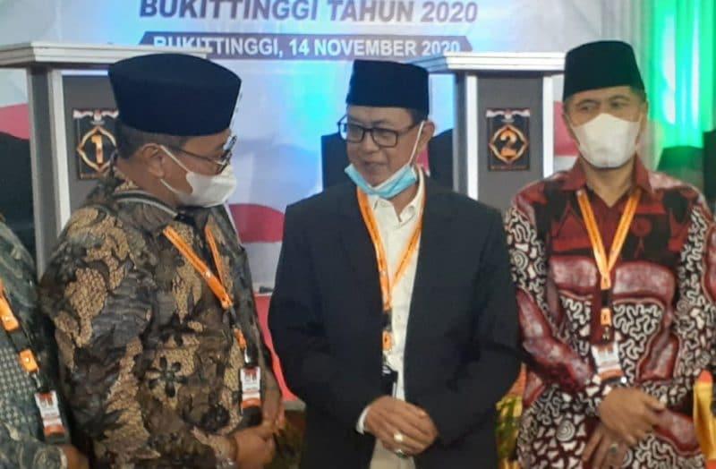 Walikota dan Wakil Walikota Bukittinggi petahana foto fadhly reza
