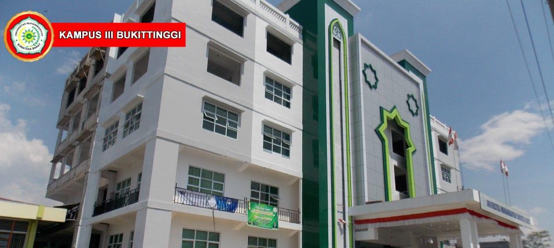 Peringatan MILAD UMSB di Kampus Bukittinggi - Foto Gedung Kampus doc. UMSB
