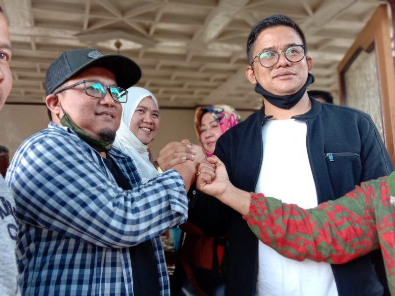 Rusdi Nurman bertemu dengan insan pers foto ist