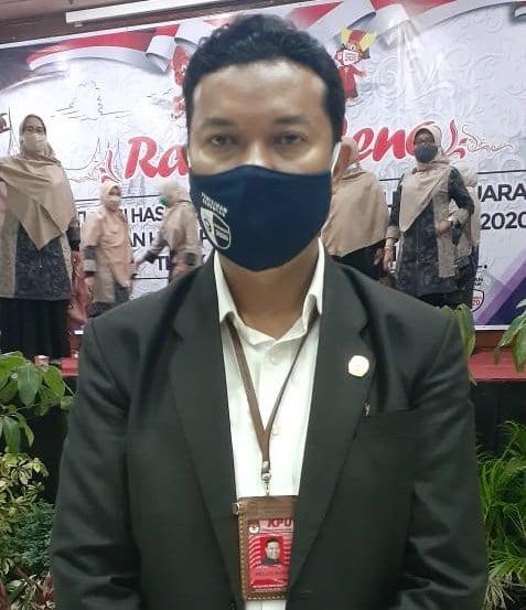 Heldo Aura Ketua KPU Bukittinggi di Acara Rapat Pleno, foto ist.