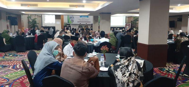 Acara Desiminasi Pembatalan Keberangkatan Calon Jemaah Haji tahun 2020 foto fadhly reza