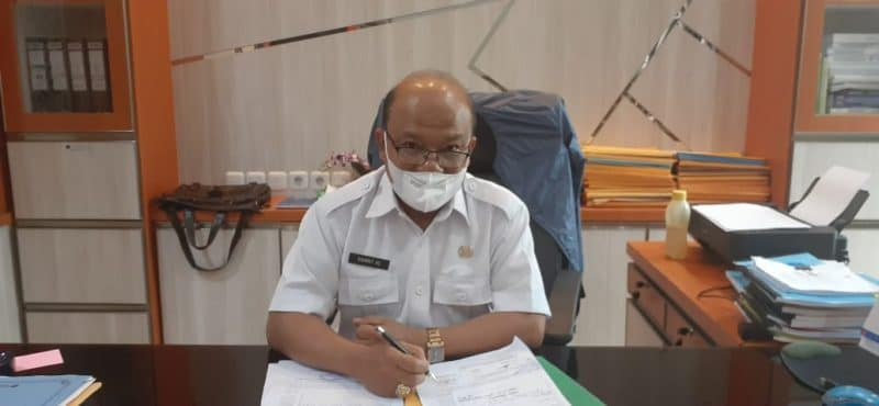 Rahmat AE, Kadinas PU/PR kota Bukittinggi foto fadhly reza